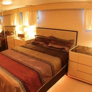 SuperYacht Boat Charter Singapore cabin