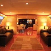 Superyacht Boat Charter Singapore interior